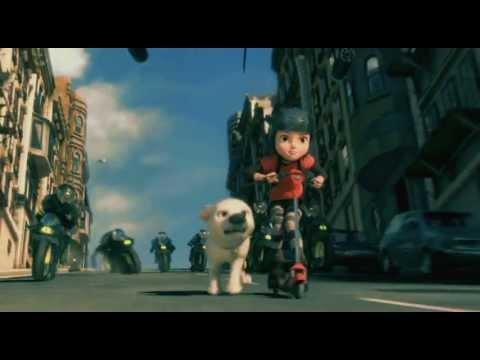 """<p>What happens when a dog (voiced by John Travolta) who has lived its whole life on a TV set—and trained to believe it was all real—gets loose?</p><p><a class=""""link rapid-noclick-resp"""" href=""""https://www.amazon.com/Bolt-John-Travolta/dp/B0094KTBK2/?tag=syn-yahoo-20&ascsubtag=%5Bartid%7C2139.g.36827219%5Bsrc%7Cyahoo-us"""" rel=""""nofollow noopener"""" target=""""_blank"""" data-ylk=""""slk:Stream It Here"""">Stream It Here</a></p><p><a href=""""https://youtu.be/Pj0a7GkMH3w"""" rel=""""nofollow noopener"""" target=""""_blank"""" data-ylk=""""slk:See the original post on Youtube"""" class=""""link rapid-noclick-resp"""">See the original post on Youtube</a></p>"""