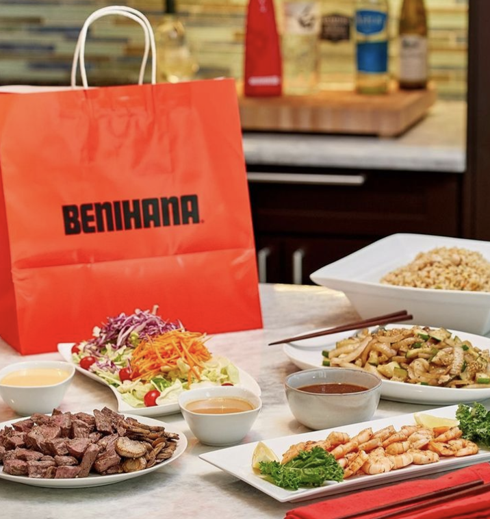 <p>Benihana always feels like a special occasion but especially on Easter.</p>