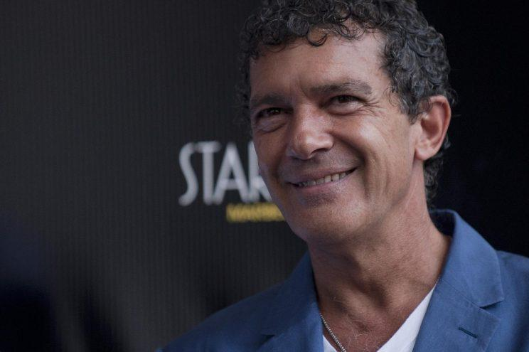 Banderas… rushed to hospital with chest pains – Credit; AFP