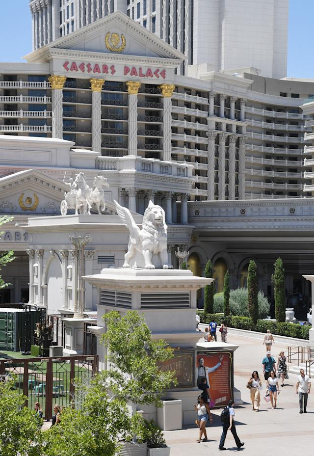 Caesars Palace en las Vegas, Nevada. (Photo by Ethan Miller/Getty Images)