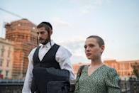 "<p>Drawing on aspects of Deborah Feldman's 2012 member, this miniseries tells the story of a Hasidic Jewish woman who seeks refuge in Berlin, after escaping her arranged marriage.</p> <p><a href=""http://www.netflix.com/title/81019069"" class=""link rapid-noclick-resp"" rel=""nofollow noopener"" target=""_blank"" data-ylk=""slk:Watch Unorthodox on Netflix."">Watch <strong>Unorthodox</strong> on Netflix.</a></p>"