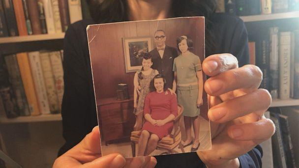 PHOTO: About 15 years ago, Victoria Johnson came across a decades-old family photo in a book she bought at a used book store in New York City. (Courtesy of Victoria Johnson )