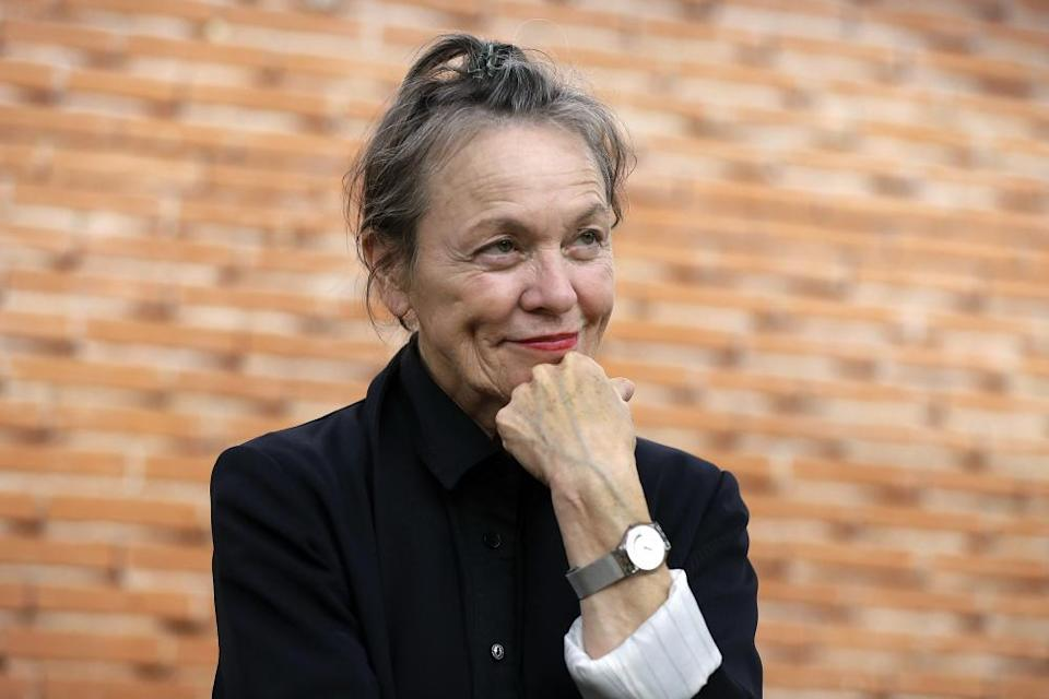 More time for her work? Laurie Anderson.