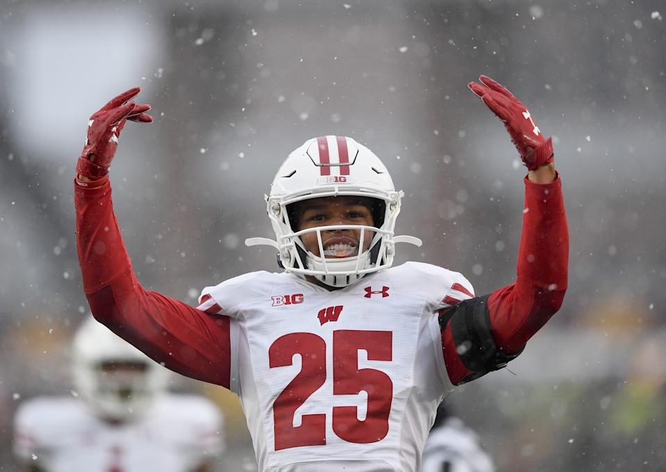 Eric Burrell was one of the UW football players that took to social media to voice his displeasure of the news that university leaders across the nationn were considering postponing the upcoming season until the spring.