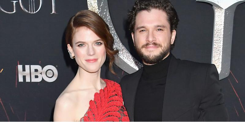 Kit Harington and Rose Leslie confirm pregnancy news with beautiful photo