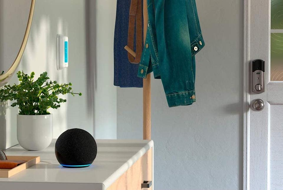 Hey, early birds! The newest Echo Dot (fourth gen) is already discounted for Prime Day. (Photo: Amazon)