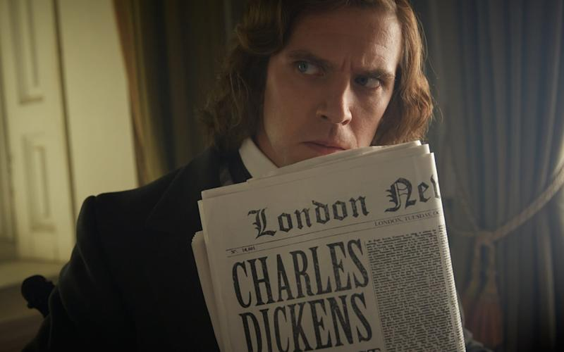 The Man Who Invented Christmas tells the story of Charles Dickens at the time when he wrote A Christmas Carol, and how Dickens' fictional character Ebenezer Scrooge was influenced by his real-life father - Handout