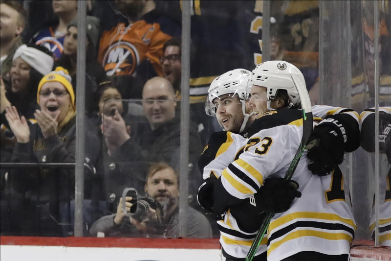 Talking Points: Charlie McAvoy played like a No. 1 defenseman in Bruins' 3-2 OT win