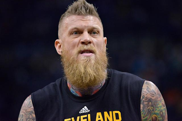 Chris 'Birdman' Andersen tries to recognize his former self. (AP)
