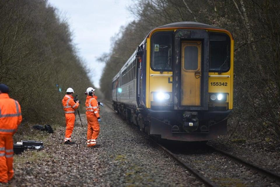 The system has previously been trialled on test tracks (University of Sheffield/PA)