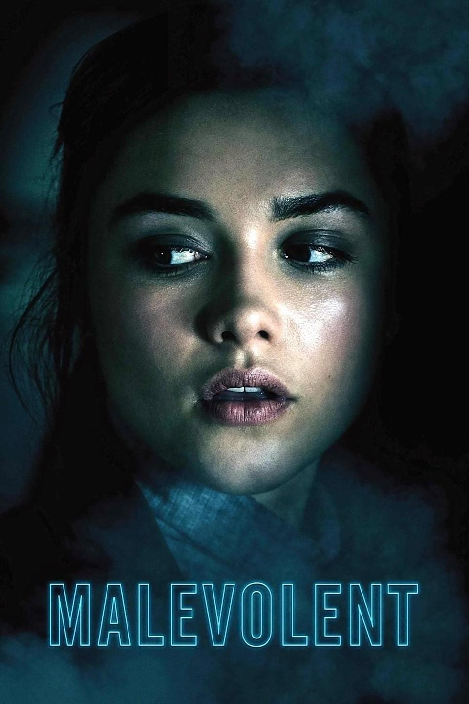 """<p>No, <em>Midsommar</em> was not the first super creepy film on Florence Pugh's resumé. In <em>Malevolent</em>, she plays part of a brother-sister duo that scams people by faking paranormal encounters. Things take a turn during a new assignment at a country house where they both start losing their grip on reality.</p> <p> <a href=""""https://www.netflix.com/title/80242081"""" rel=""""nofollow noopener"""" target=""""_blank"""" data-ylk=""""slk:Available on Netflix"""" class=""""link rapid-noclick-resp""""><em>Available on Netflix</em></a> </p>"""