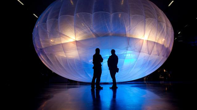 Project Loon aims to try and restore emergency cellular reception service to the devastated island of Puerto Rico after the Federal Communications Commission approved a license on Friday.