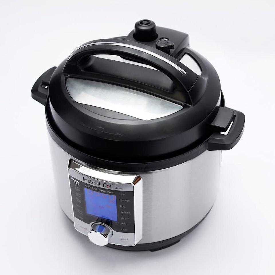 """$120, Nordstrom. <a href=""""https://shop.nordstrom.com/s/instant-pot-ultra-3-quart-10-in-1-multiuse-programmable-cooker/5060657"""">Get it now!</a>"""