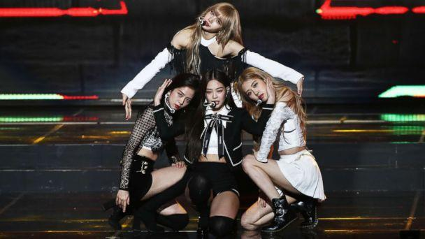 PHOTO: Girl group BlackPink performs on stage during the 8th Gaon Chart K-Pop Awards on Jan. 23, 2019 in Seoul, South Korea. (Chung Sung-Jun/Getty Images)