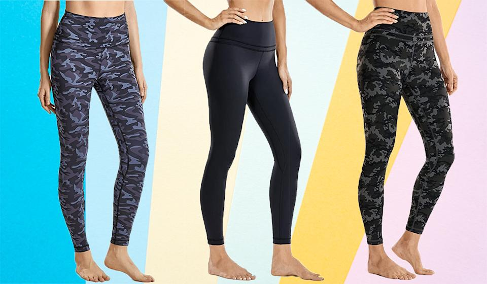 Shoppers can't stop raving about these gorgeous leggings. (Photo: Amazon)