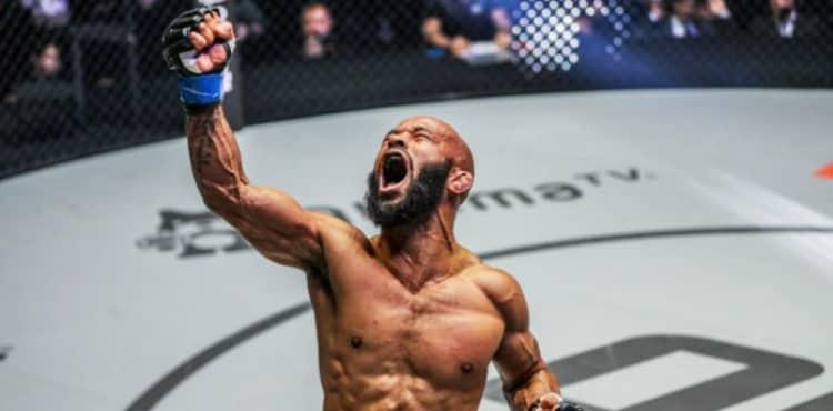 Demetrious Johnson ONE Championship victory