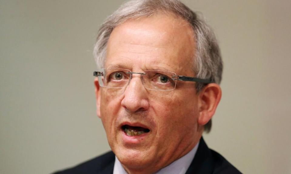 Britain's deputy governor of the Bank of England, Jon Cunliffe.