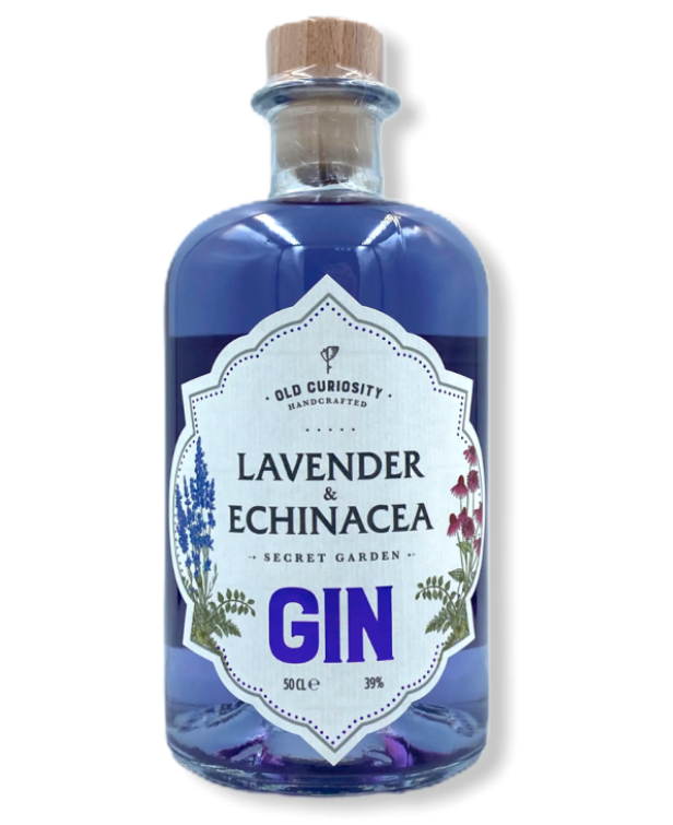 Old Curiosity Lavender & Echinacea Gin 500ml