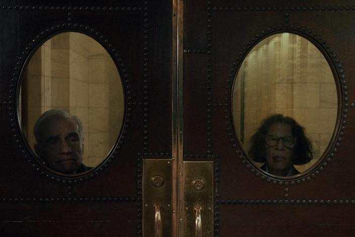 Martin Scorsese (left) and Lebowitz in the final episode of the show.
