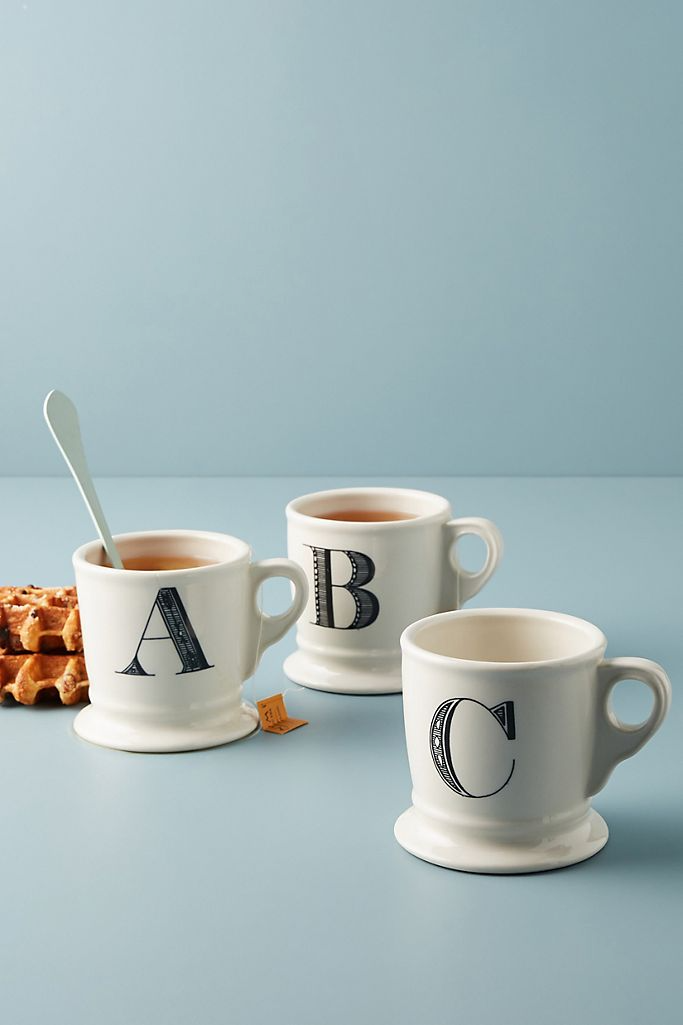 "Be the Will to their Grace with these monogram coffee mugs. <br><br><strong>Anthropologie</strong> Monogram Mug, $, available at <a href=""https://go.skimresources.com/?id=30283X879131&url=https%3A%2F%2Fwww.anthropologie.com%2Fshop%2Fmonogram-mug%3Fcolor%3D000%26type%3DSTANDARD%26quantity%3D1"" rel=""nofollow noopener"" target=""_blank"" data-ylk=""slk:Anthropologie"" class=""link rapid-noclick-resp"">Anthropologie</a>"