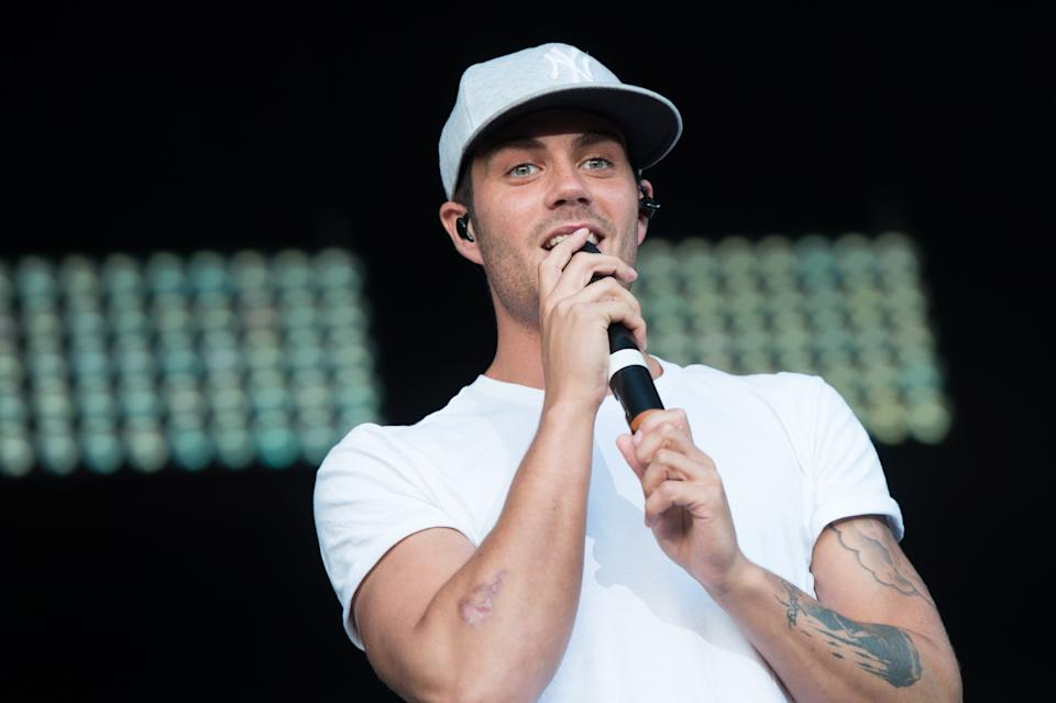 Max George of The Wanted performs onstage during day 2 of Fusioni Festival 2014 on August 31, 2014 in Birmingham, England. (Photo by Ollie Millington/Redferns via Getty Images)