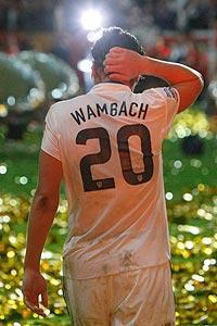 Abby Wambach and her teammates couldn't capitalize on a number of first-half scoring opportunities