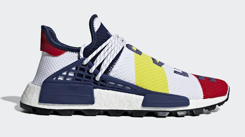 a5841b14d72f60 The New Pharrell Williams x Adidas NMD Hu  BBC  Sneaker Has a Release Date