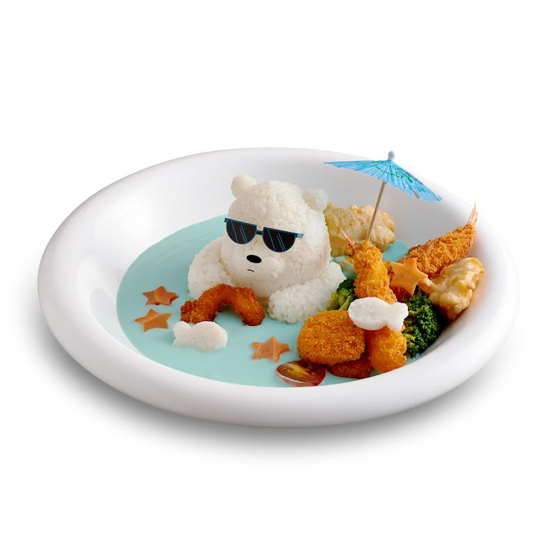 Ice Bear Arctic Cool Seafood rice with cream sauce. (PHOTO: Kumoya)