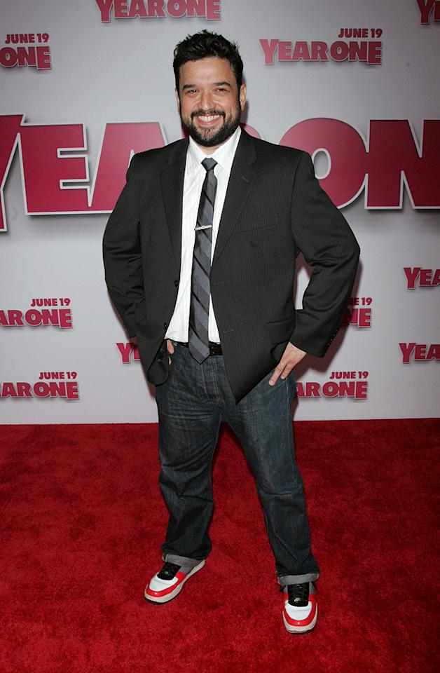 """<a href=""""http://movies.yahoo.com/movie/contributor/1800420534"""">Horatio Sanz</a> at the New York premiere of <a href=""""http://movies.yahoo.com/movie/1809981033/info"""">Year One</a> - 06/15/2009"""