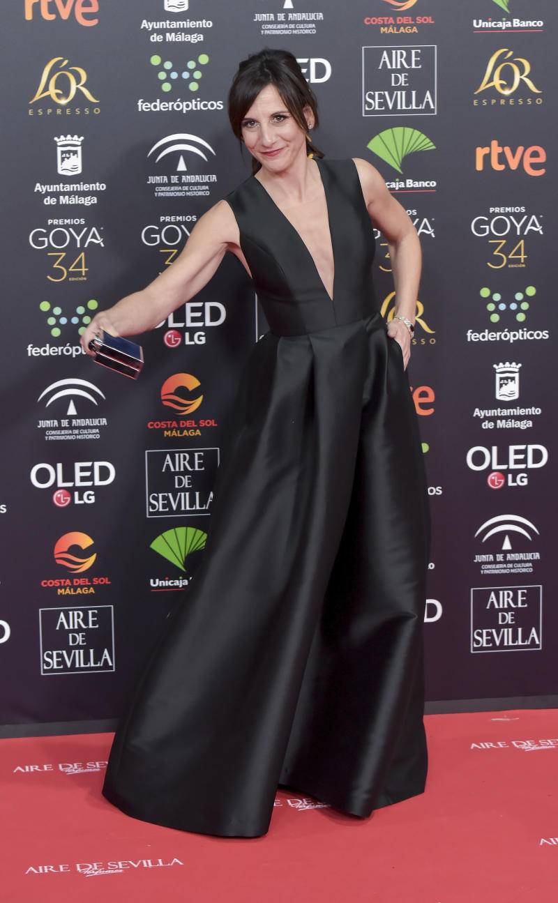 MALAGA, SPAIN - JANUARY 25: Malena Alterio attends the Goya Cinema Awards 2020 during the 34th edition of the Goya Cinema Awards at Jose Maria Martin Carpena Sports palace on January 25, 2020 in Malaga, Spain. (Photo by Juan Naharro Gimenez/WireImage)
