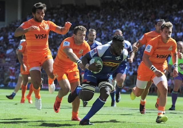 Siya Kolisi has played in 28 Tests for South Africa (AFP Photo/RODGER BOSCH)