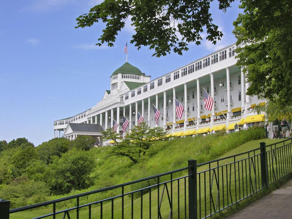 "<p>Home to the world's longest front porch, this hotel is also <a href=""http://weekinweird.com/2015/06/29/the-ghosts-of-mackinac-island-the-haunted-history-of-michigans-mysterious-isle/"" rel=""nofollow noopener"" target=""_blank"" data-ylk=""slk:reportedly the residence for a few paranormal tenants"" class=""link rapid-noclick-resp"">reportedly the residence for a few paranormal tenants</a>. The two most noteworthy couldn't be more different from one another: One is a black mass that supposedly watches over workers with an evil glare; the second, more congenial spirit is man in a top hat who likes to fraternize at a bar piano.<br></p><p><a class=""link rapid-noclick-resp"" href=""https://go.redirectingat.com?id=74968X1596630&url=https%3A%2F%2Fwww.tripadvisor.com%2FHotel_Review-g42423-d218337-Reviews-Grand_Hotel-Mackinac_Island_Mackinac_County_Upper_Peninsula_Michigan.html&sref=https%3A%2F%2Fwww.countryliving.com%2Flife%2Ftravel%2Fg2689%2Fmost-haunted-hotels-in-america%2F"" rel=""nofollow noopener"" target=""_blank"" data-ylk=""slk:PLAN YOUR TRIP"">PLAN YOUR TRIP</a></p>"