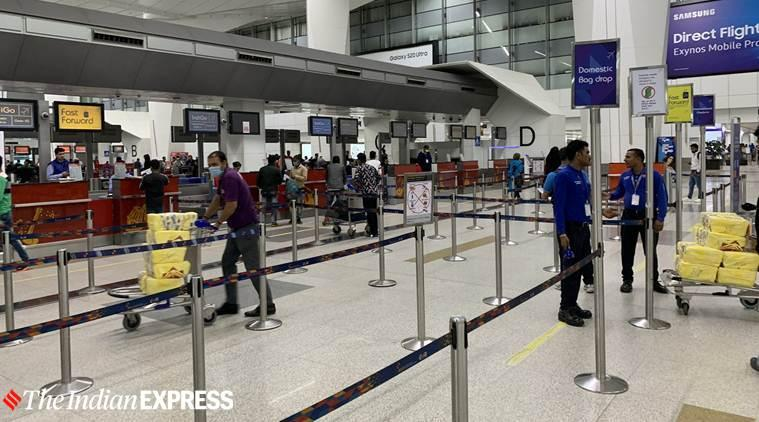 coronavirus, coronavirus outbreak, coronavirus in India, coronavirus cases in India, coronavirus India cases, Delhi Airport, coronavirus Delhi Airport, India news, Indian Express