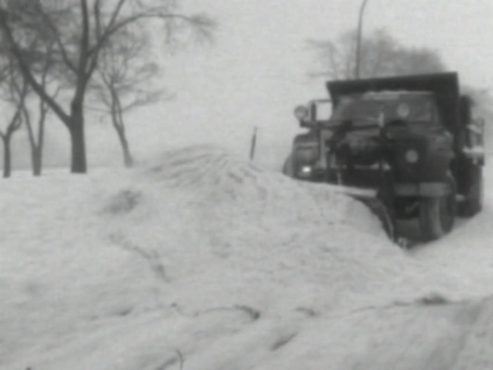 It was the record-breaking nor'easter winter of '69