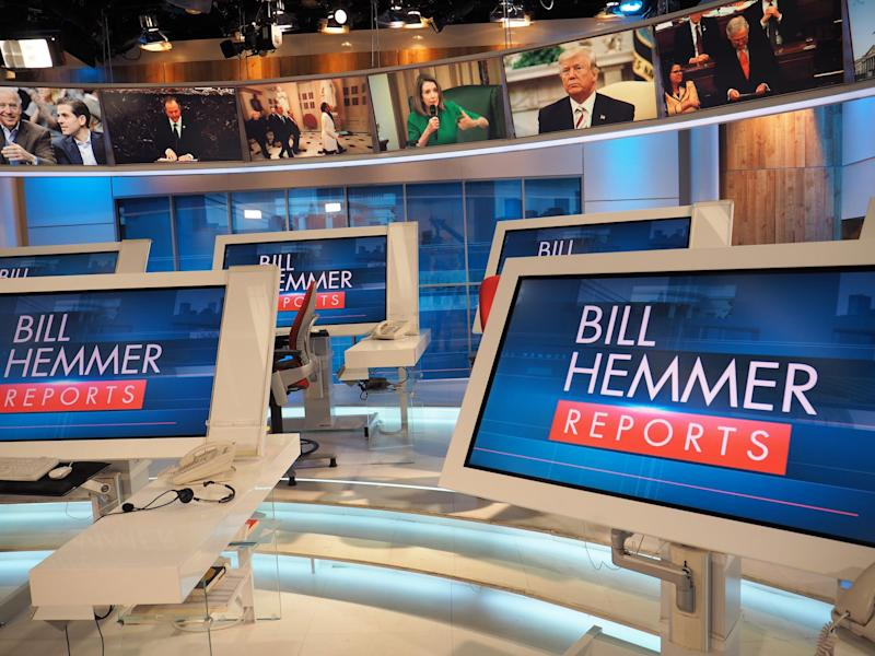 Bill Hemmer studio.