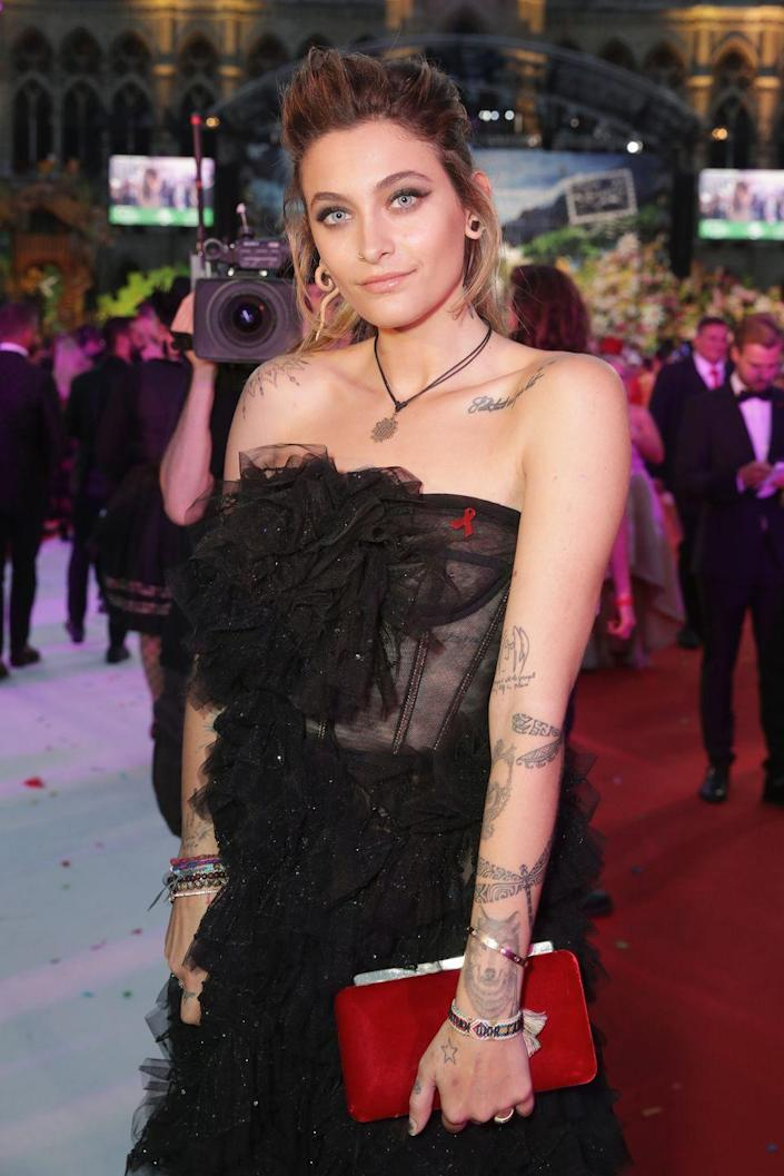 <p>21-year-old Paris has been candid about her mental health struggles and alcohol addiction for years and is now in the midst of making a name for herself in the entertainment industry after signing with IMG Models.</p>