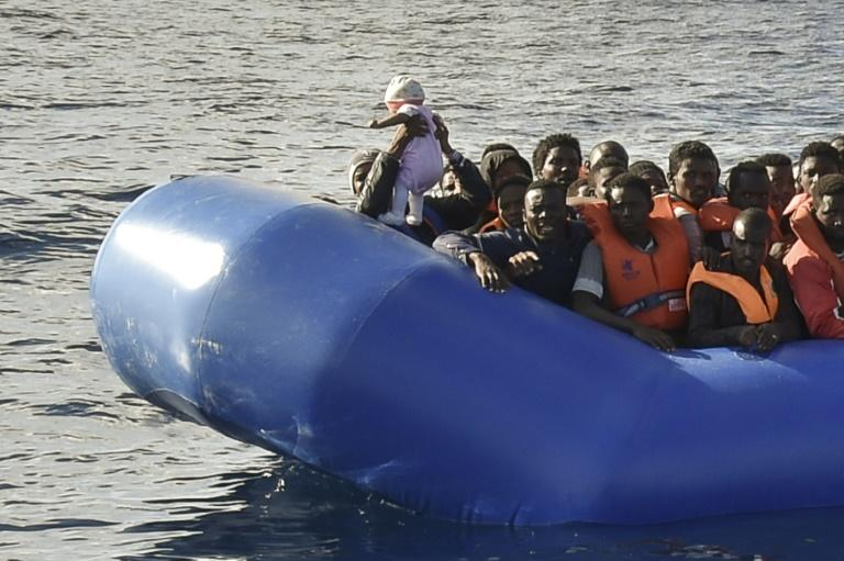 Spain saves 26 migrants from sinking boat in Mediterranean