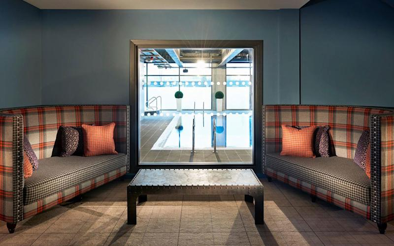 You can sweat, steam, swim, spin and spa at Edinburgh's Village Urban Resort. -