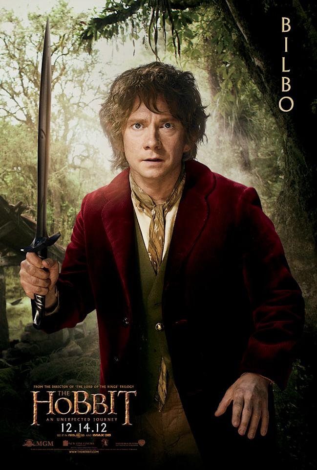 "Martin Freeman as Bilbo Baggins in New Line Cinema's ""The Hobbit: An Unexpected Journey"" - 2012"