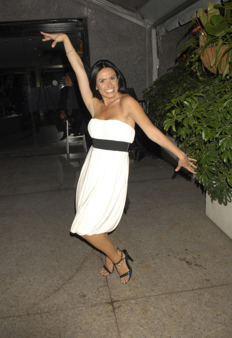 """TELEMUNDO UPFRONT MAY 2007 -- """"Reception"""" -- Pictured: Penelope Menchaca during the Telemundo Upfront 2007 Reception on May 15, 2007 (Photo by Ali Paige Goldstein/NBCU Photo Bank/NBCUniversal via Getty Images via Getty Images)"""