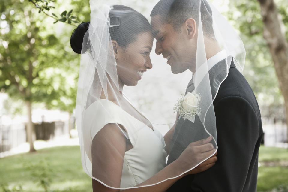 The pandemic has shaken up the wedding industry, with couples forced to postpone or scale back their original plans. (Photo: Getty Creative)
