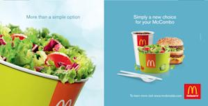 McDonald's new menu marketing