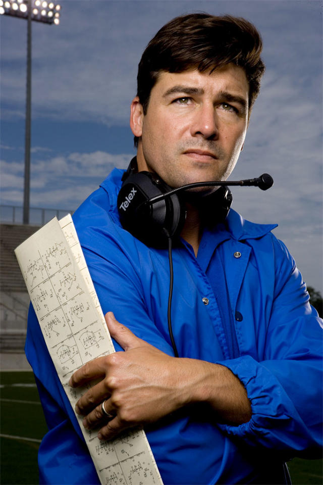"""<a href=""""/kyle-chandler/contributor/57997"""">Kyle Chandler</a> stars as Eric Taylor in <a href=""""/friday-night-lights/show/38958"""">Friday Night Lights</a> on NBC."""
