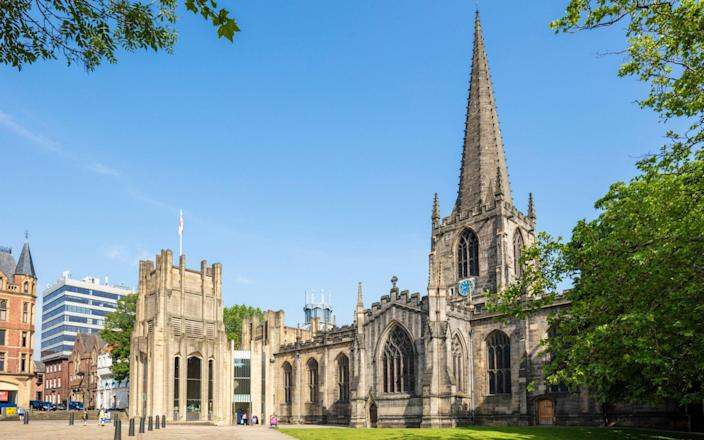 """Sheffield Cathedral has announced it will be closing its choir because it does not meet the needs of a """"mixed urban community"""" and should be more diverse. - Alamy"""