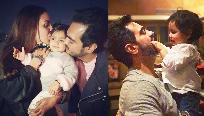 Esha Deol Posts A Love-Filled Picture Of Little Angel, Radhya Takhtani With Her 'First Love', Bharat