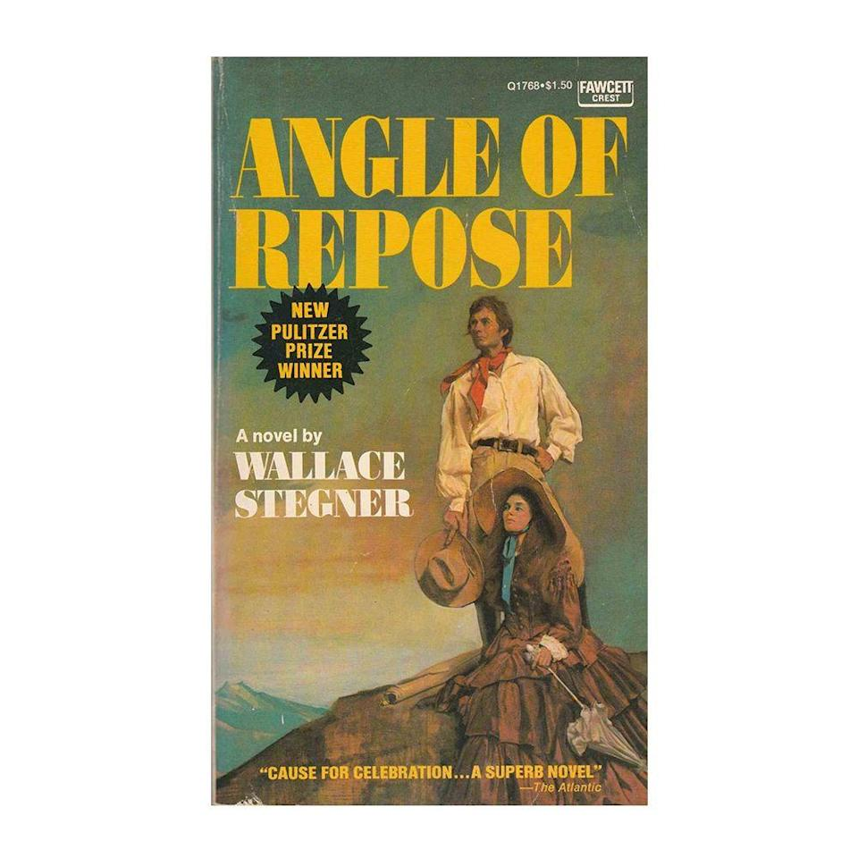"""<p><strong>$13.37 <a class=""""link rapid-noclick-resp"""" href=""""https://www.amazon.com/Angle-Repose-Wallace-Stegner/dp/1101872764/ref=sr_1_1?tag=syn-yahoo-20&ascsubtag=%5Bartid%7C10054.g.35036418%5Bsrc%7Cyahoo-us"""" rel=""""nofollow noopener"""" target=""""_blank"""" data-ylk=""""slk:BUY NOW"""">BUY NOW</a></strong></p><p><strong>Genre: </strong>Historical Fiction</p><p>Winner of the Pulitzer Prize for Fiction in 1972, this story of discovery follows wheelchair user and ex-historian Lyman Ward in his quest to write his grandparents' biography. While researching the remarkable tales of how they pioneered civilization into the western frontier, he reveals more about his own life, piecing together a clearer portrait of his American family.</p>"""