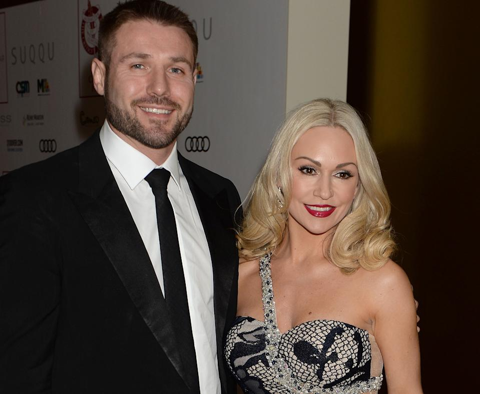 Kristina Rihanoff is in a relationship with Ben Cohen after meeting him on 'Strictly' (Getty Images)