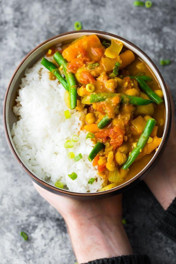 """<p>This curry is freezer-friendly and perfect for a make-ahead meal.</p><p>Get the recipe from <a href=""""https://sweetpeasandsaffron.com/instant-pot-chickpea-curry/"""" rel=""""nofollow noopener"""" target=""""_blank"""" data-ylk=""""slk:Sweet Peas and Saffron"""" class=""""link rapid-noclick-resp"""">Sweet Peas and Saffron</a>. </p>"""
