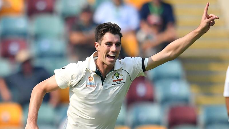 Pat Cummins has taken 17 wickets at the Gabba in just three Tests after his 3-60 against Pakistan