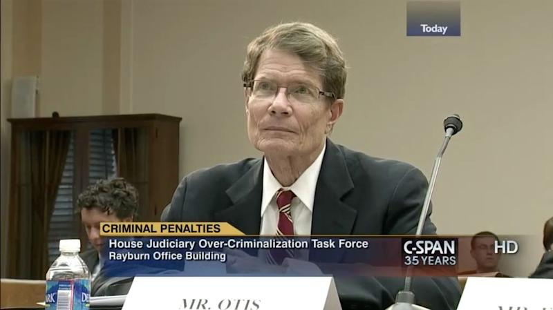 William Otis on C-SPAN in 2014.